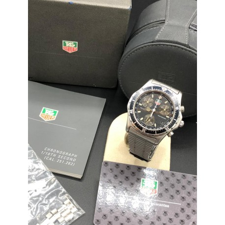 TAG Heuer Chronograph Brown Compax
