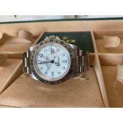 Rolex Explorer II Full set white dial