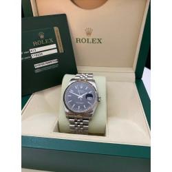Rolex Date-Just 116234 Black Super Jubile