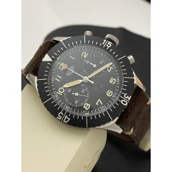 Heuer Bundeswehr 3 H military chronograph