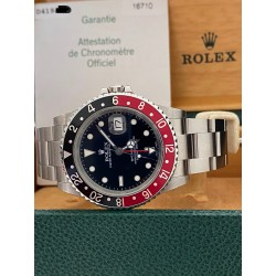 Rolex GMT Master II 16710 Coke NOS