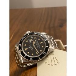Rolex Submariner 16800 tritium in patina