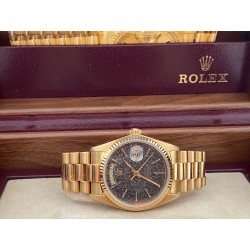 Rolex Day-Date Sapphir re18038 Marble Dial