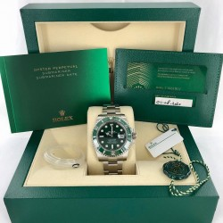 Rolex 116610LV Hulk 2020 NOS