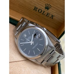 Rolex Date-Just black dial Oyster full set