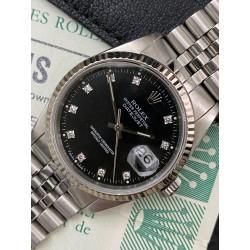 Rolex Date-Just Diamond Dial Full set