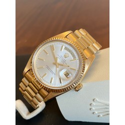 Rolex Day-Date white dial