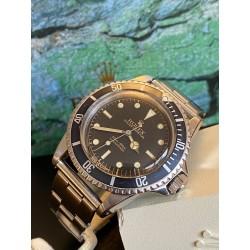 Rolex Submariner 5513 rare PCG gilt cornino chapter ring
