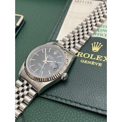 Rolex Date-Just 16234 Black full set