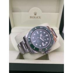 "Rolex Submariner ""Hulk"" - Italian - full serviced - never polished"