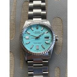 Rolex Datejust Tiffany Custom Dial - full set
