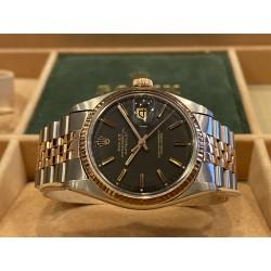 Rolex Datejust 1601 Matt Black dial  Pink